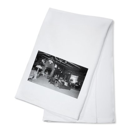 Brookdale, California - Interior View of Brookdale Lodge Lobby (100% Cotton Kitchen Towel)