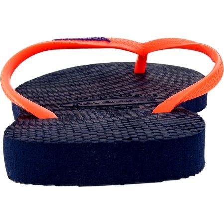 940f9a564 Havaianas Women s H. Sl Logo Pop-Up Navy Blue Rubber Sandal - 10M ...