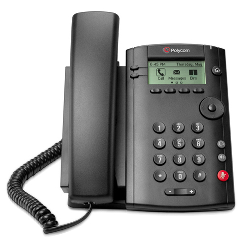 Polycom 2200-40250-025 1-Line Corded Voice Over IP Phone ...