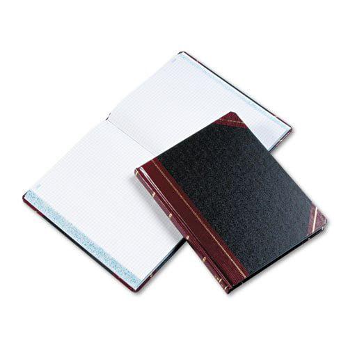 Boorum & Pease Columnar Book, Quadrille Rule, Black, 300 Pages, 10 3/8 x 8 1/8 21-300-Q (DMi EA
