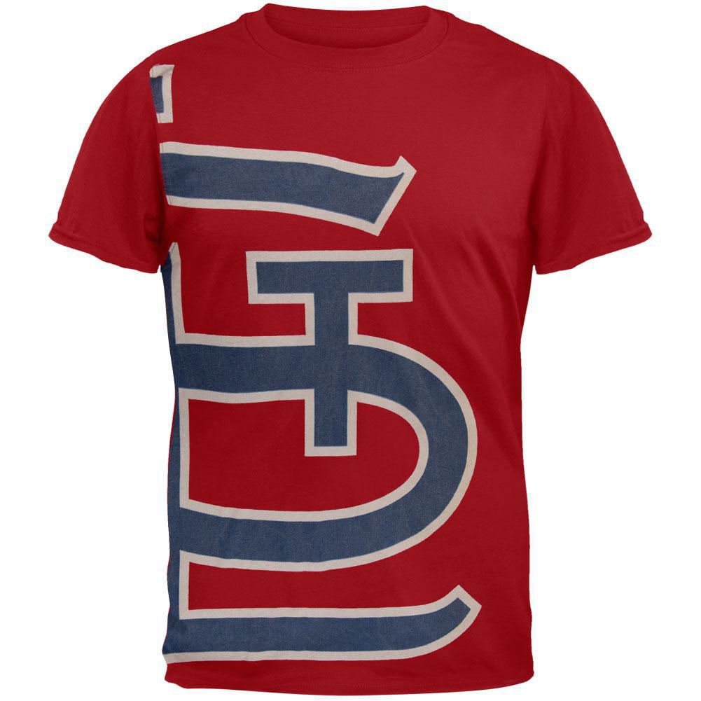 St. Louis Cardinals - Overgrown Logo Soft T-Shirt
