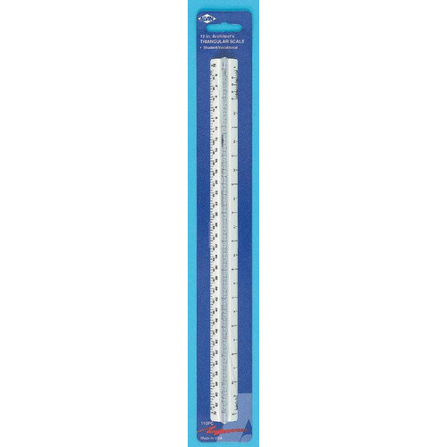 Alvin and Co. High Impact Architect Triangular Scale (Set of 3)