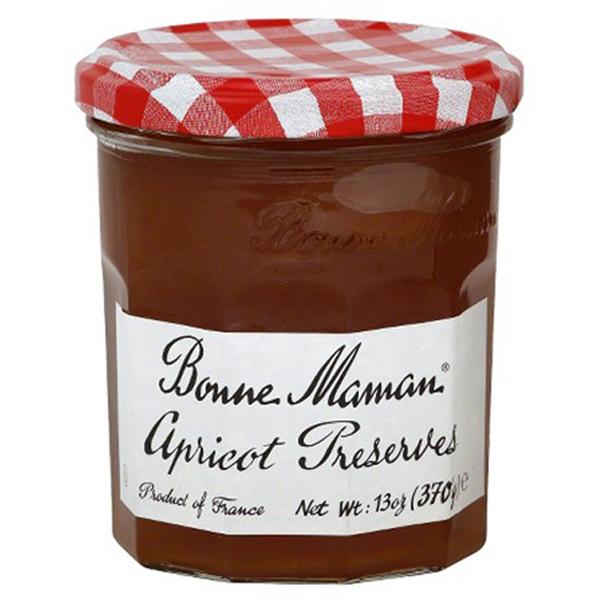 Bonne Maman Apricot Preserves 13 oz Jars Single Pack by