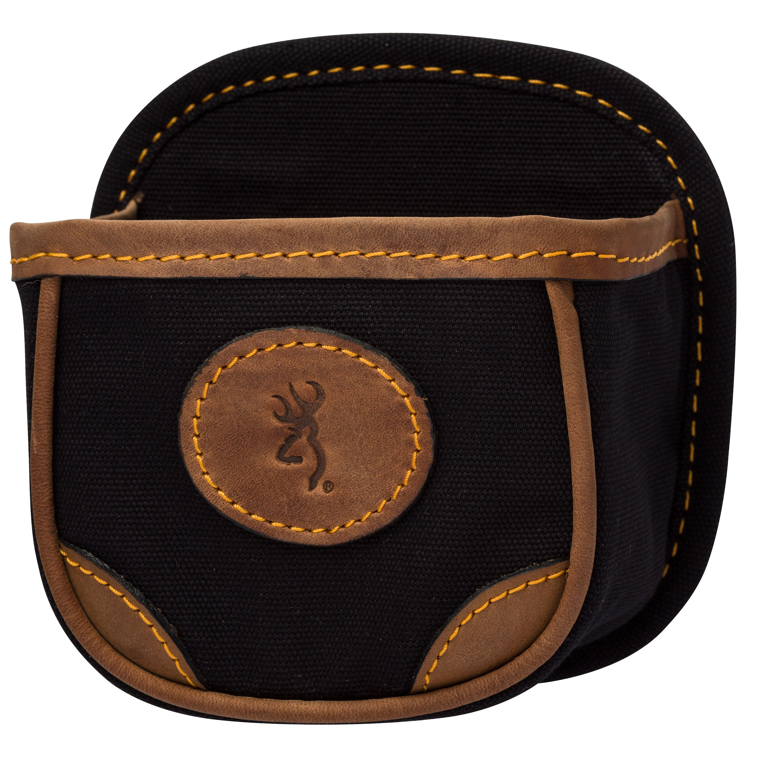 Browning Lona Canvas/Leather Shell Box Carrier, Black