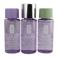 Clinique Take the Day Off Makeup Remover 5.1oz - Travel Size Set (3 x 1.7oz ea)