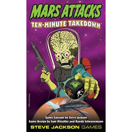 Mars Attacks Ten Minute Take Down Action - Halloween Action Games Online