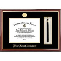"Wake Forest University 11"" x 14"" Tassel Box and Diploma Frame"