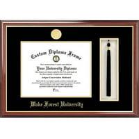 "Wake Forest University 11"" x 14"" Tassel Box and Diploma Frame"