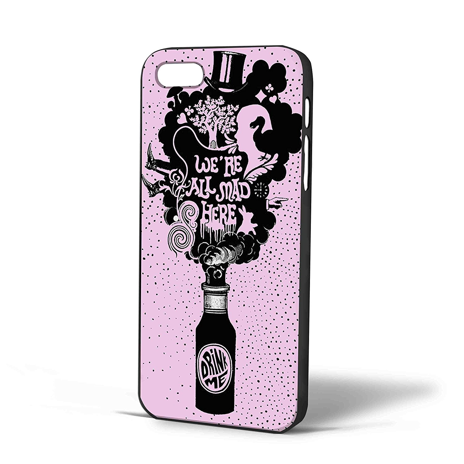 Ganma Fabulous Quote - We're All Mad Here Case For iPhone Case (Case For iPhone 6 White)