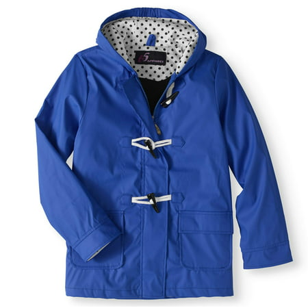 Girl's Waxie Toggle Rain Slicker Jacket ()