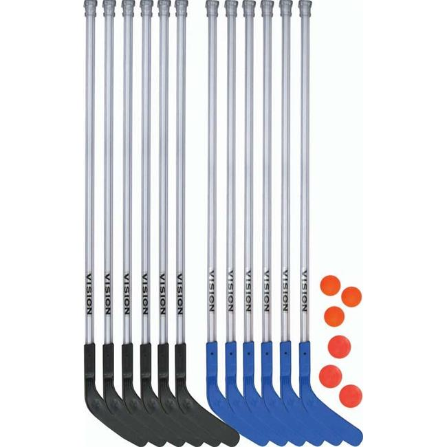 Olympia Sports HO184P 52 in. DOM Vision Deluxe Hockey Set by Olympia Sports