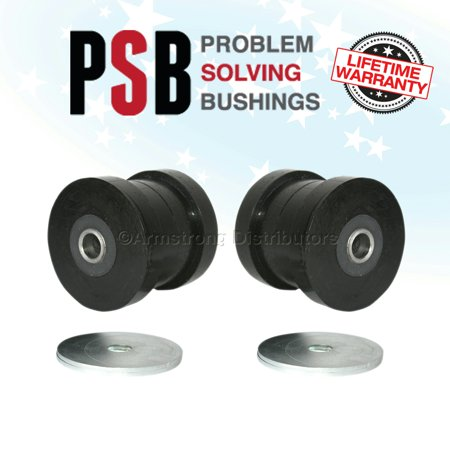 2X BMW E39 8Cyl (98-04) Front Strut / Lower Tie Bushing to Chassis - PSB 629