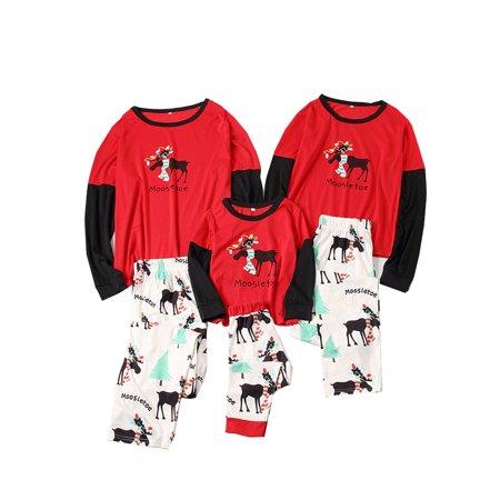 Cathery - Cute Christmas Kids Adult Family Pajamas Set Deer Sleepwear  Nightwear Costume - Walmart.com f24f5c2d9