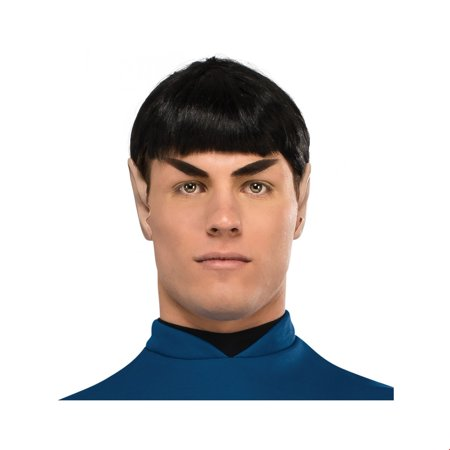 Star Trek Mens Spock Wig Halloween Costume Accessory (Costume Mens Wigs)