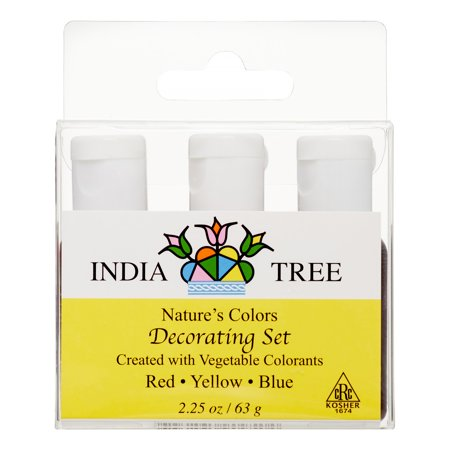 India Tree Nature's Colors Decorating Set, Assorted, 2.25 Oz