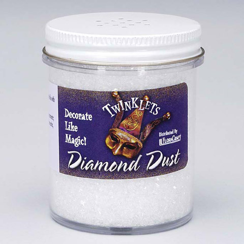 Diamond Dust. Crystal. 6 oz