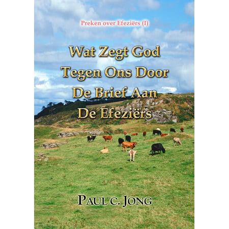 Preken over Efeziërs (I) - Wat Zegt God Tegen Ons Door De Brief Aan de Efeziërs - eBook