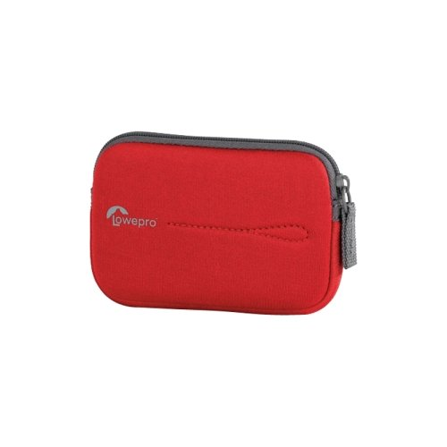 Lowepro LP363650WW Vail 10 Camera Pouch, Bright Red
