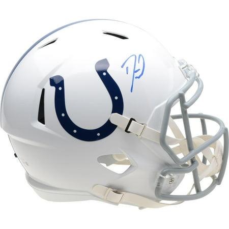 Darius Leonard Indianapolis Colts Autographed Riddell Speed Replica Helmet - Fanatics Authentic -