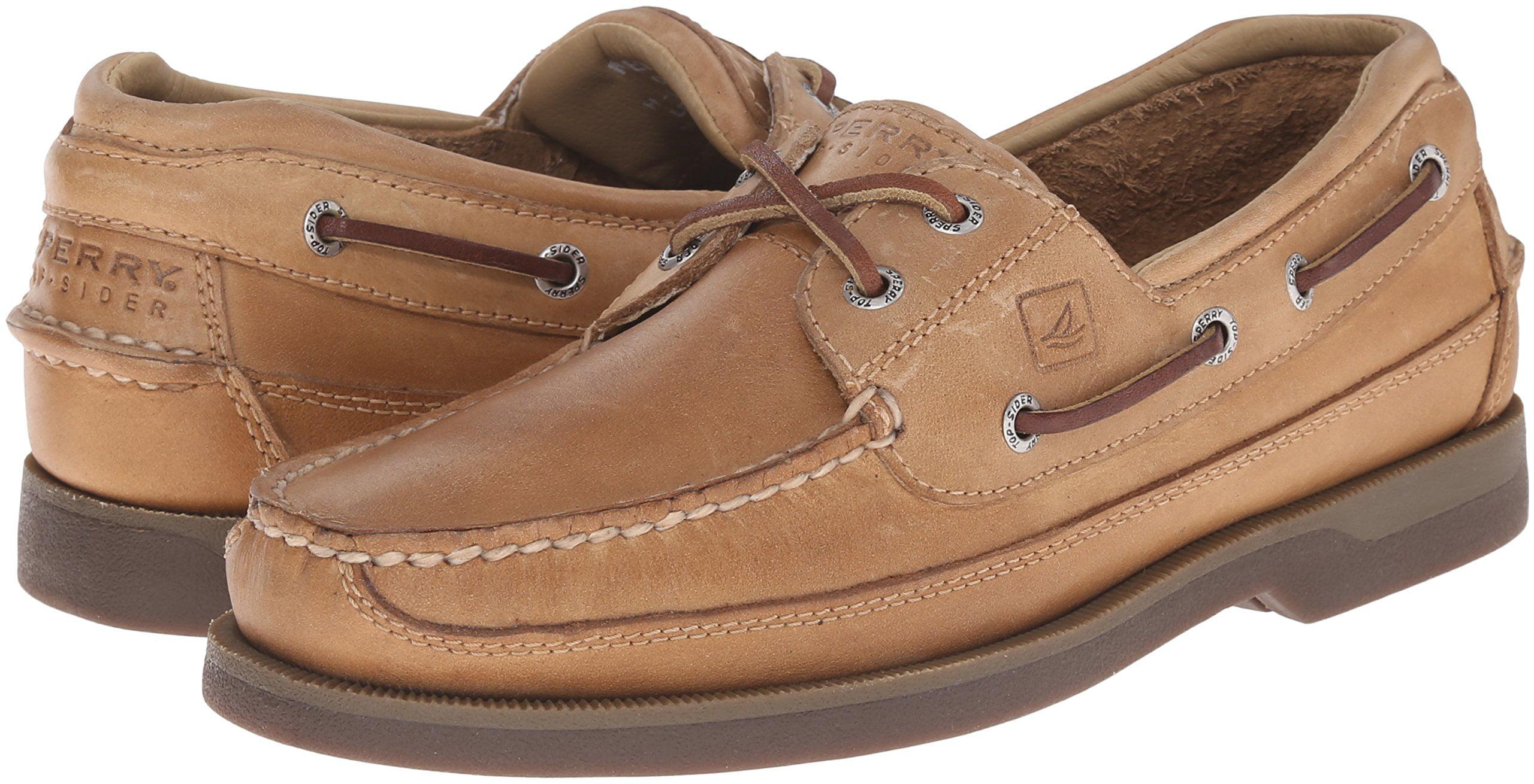Sperry Top-Sider Mako 2-Eye Mens Oak Boat Shoes