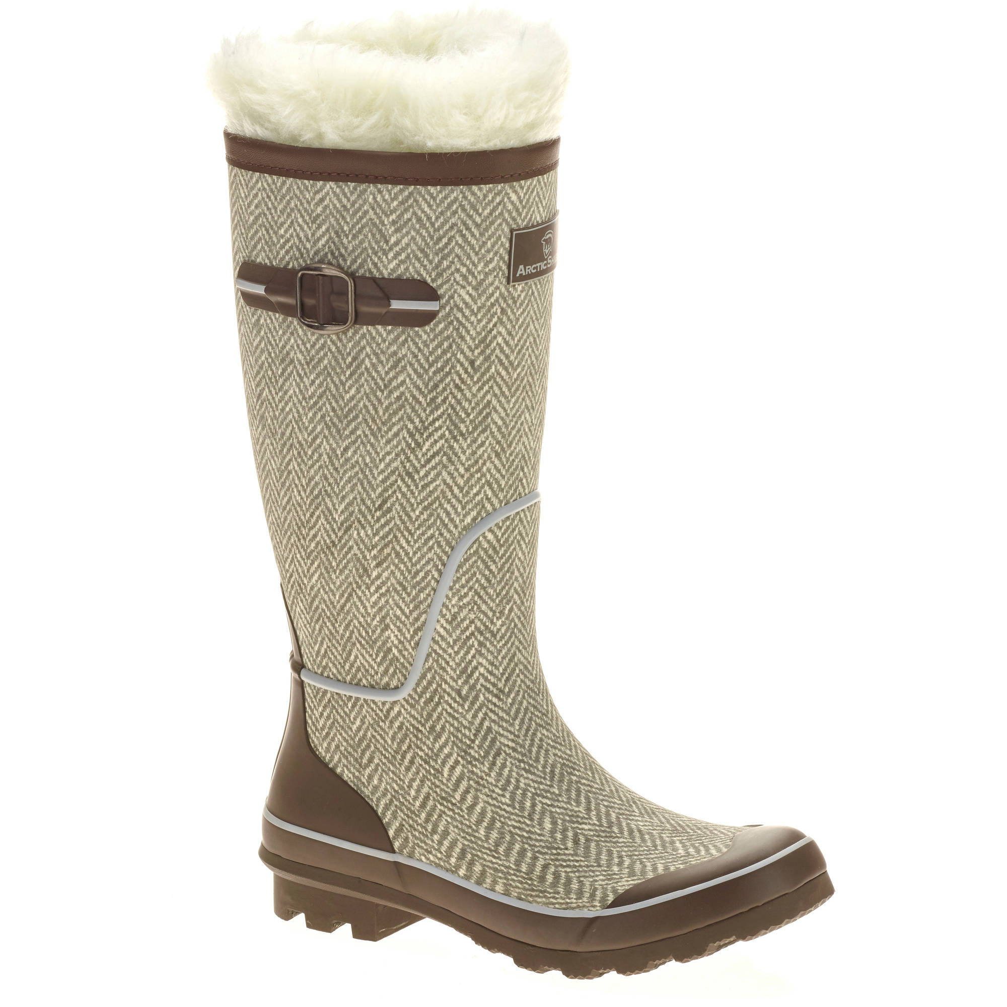 faded wmns arctic shield rubber winter boot