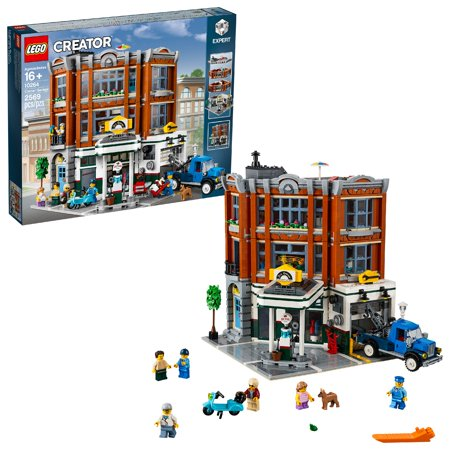 Pole Building Garage - LEGO Creator Expert Corner Garage 10264 Building Set (2,569 Pieces)