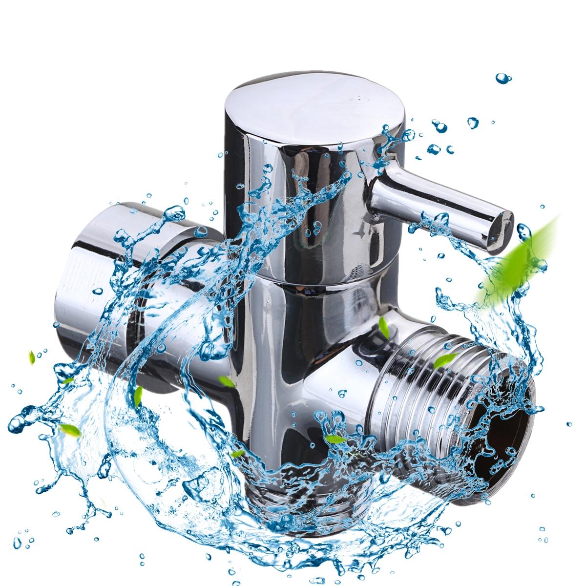 Toilet Bathroom Hand Held  Diaper Sprayer Spray Hose Holder with Valve adapter
