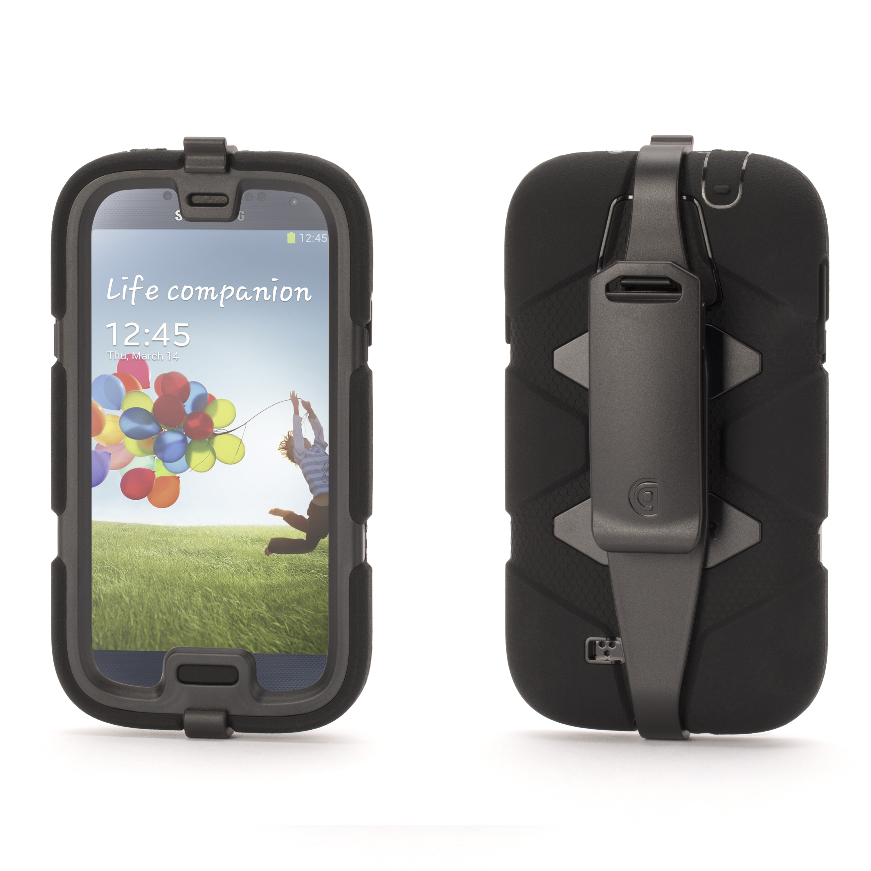 Griffin Technology Survivor Case for Samsung Galaxy S4, Black