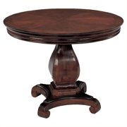 Flexsteel Rue de Lyon 3.5' Round Conference Table in Ruby Cabernet