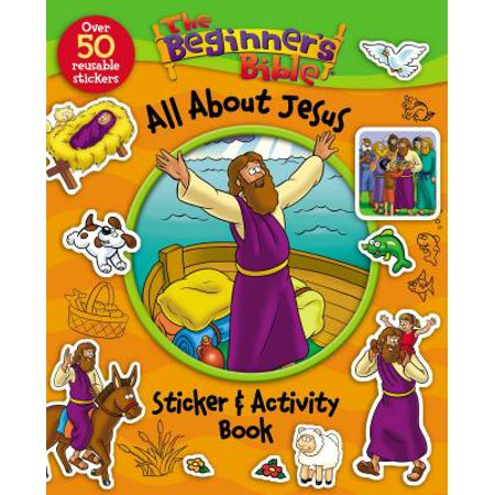 Beginner's Bible: The Beginner's Bible All about Jesus Sticker and Activity Book (Paperback) - Halloween Bible School Activities