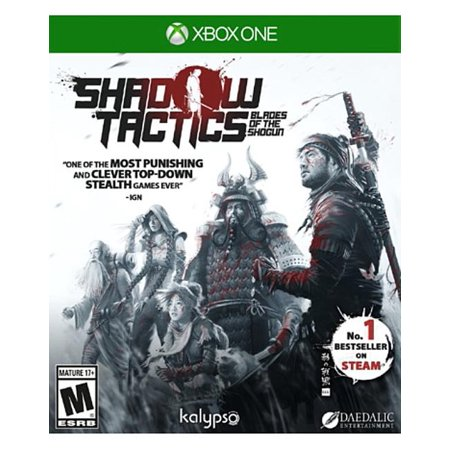 Shadow Tactics: Blades of the Shogun, Kalypso Media USA, Xbox One, 848466000918