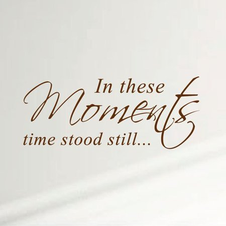 Innovative Stencils 'In These Moments Time Stood Still' Home Wall - Stencil Wall Art