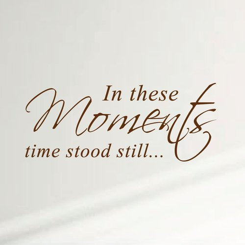 Innovative Stencils 'In These Moments Time Stood Still' Home Wall Decal