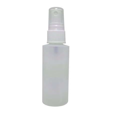 2oz Plastic Spray Bottles with Fine Mist Sprayers. 10-Pack HDPE Plastic, Non Toxic, BPA Free, Food Grade Bottles. Perfect for Travel & Home Use. Essential/Perfume Oil Sample Included (White Sprayer)