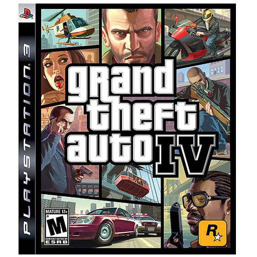 Grand Theft Auto IV (Pre-Owned), Rockstar Games, PlayStation 3, 886162352689