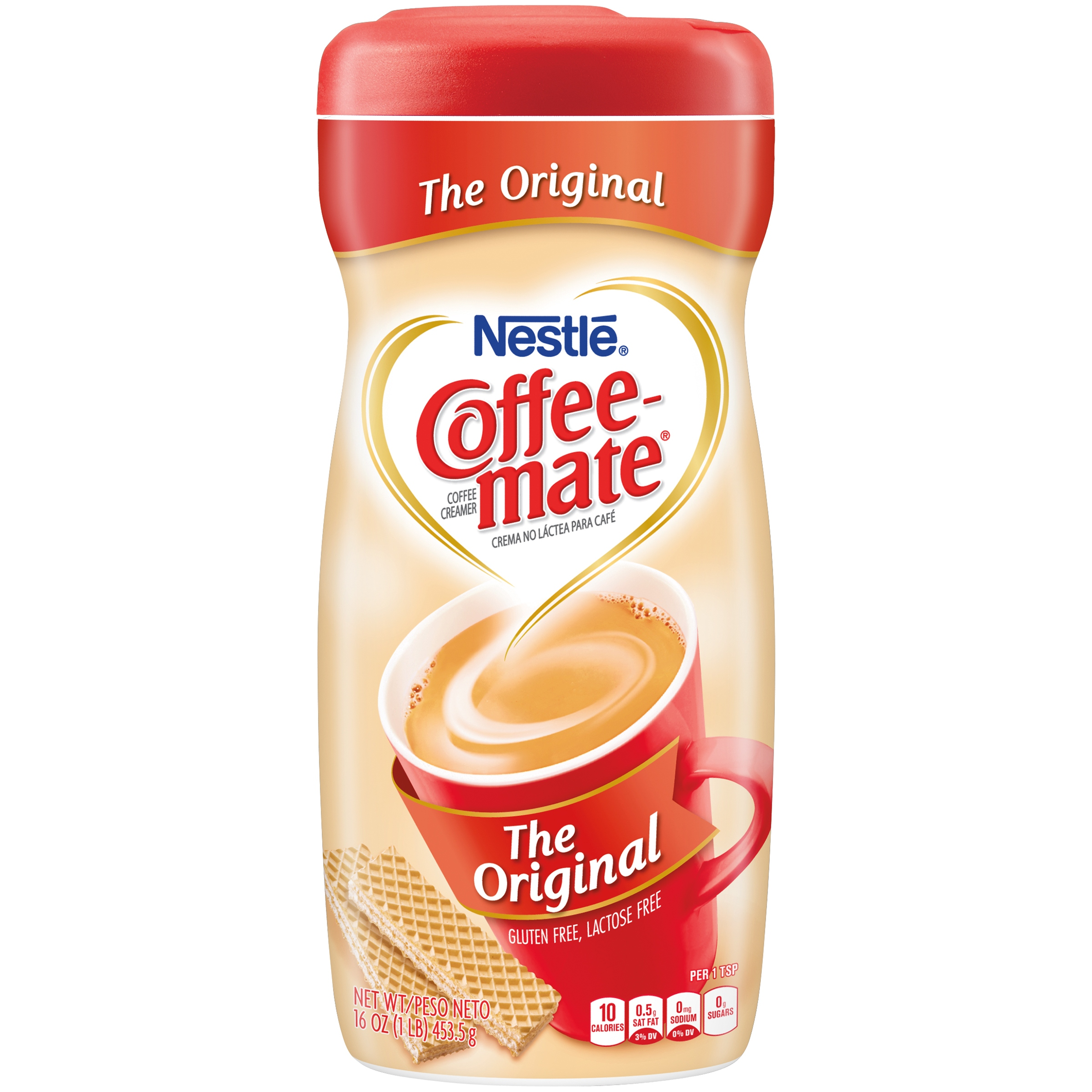 (2 Pack) COFFEE-MATE The Original Powder Coffee Creamer 16 oz. Canister