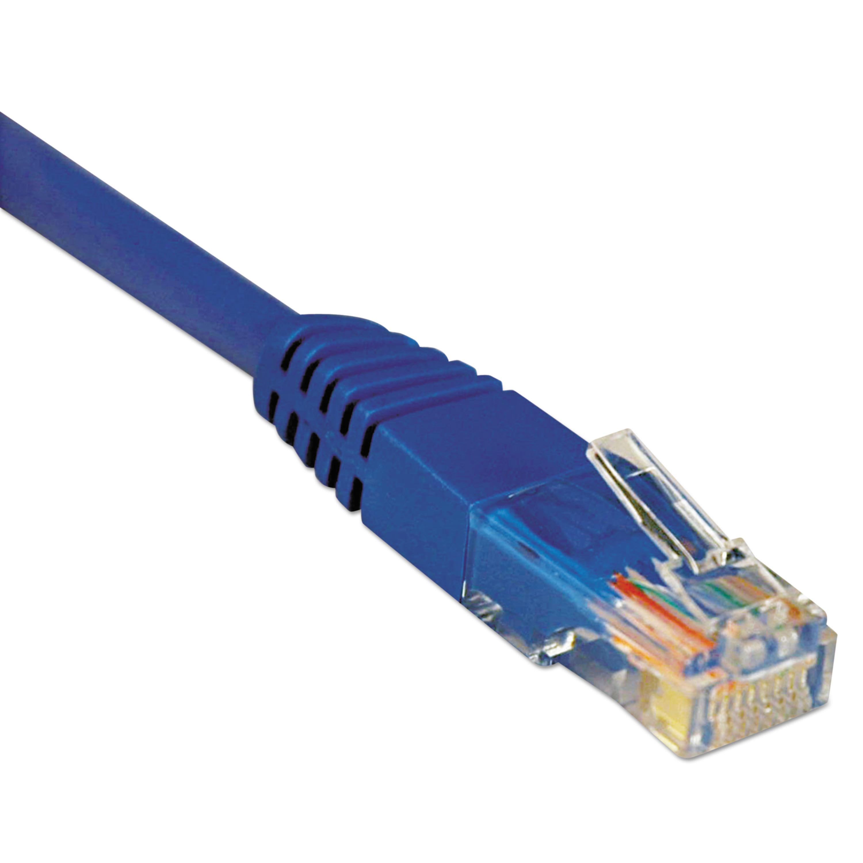 Tripp Lite CAT5e Molded Patch Cable, 100 ft., Blue