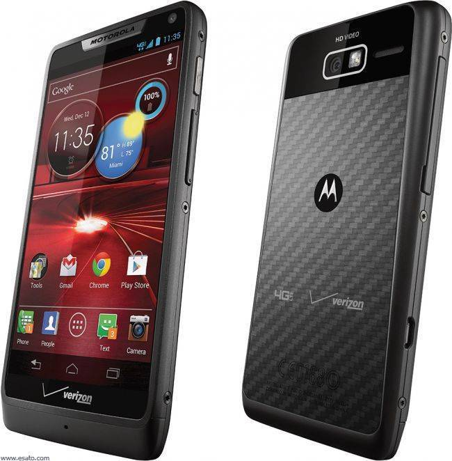 Motorola Droid XT907 RAZA M - Black (Verizon) Android Smartphone Manufacturer refurbished