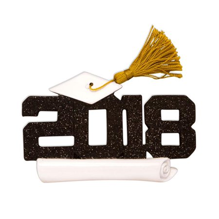 2018 Graduation Personalized Christmas Tree Ornament DO-IT-YOURSELF