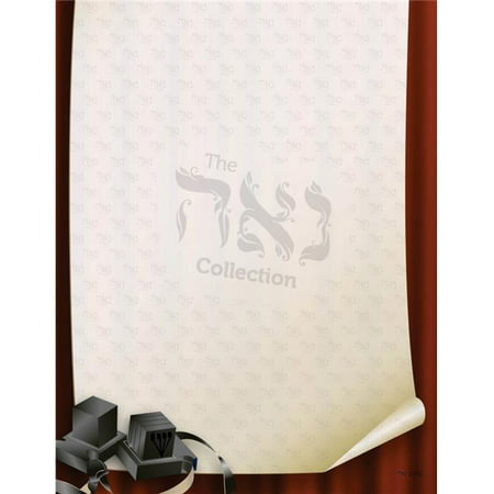 Tefillin Covers - Nua Collection And Gifts SZ023S Design Paper - Tefillin  3 x 4 in. - 50 per Pack