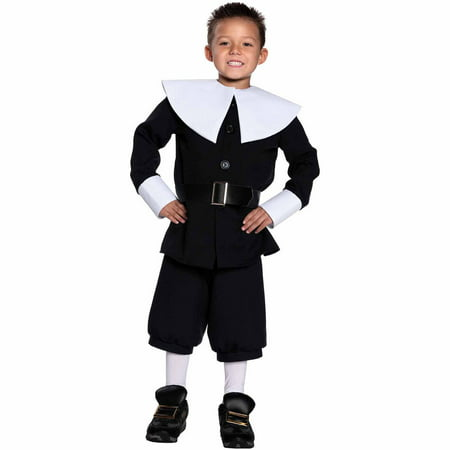 Pilgrim Boy Child Halloween Costume - Pilgrim Costume Kids
