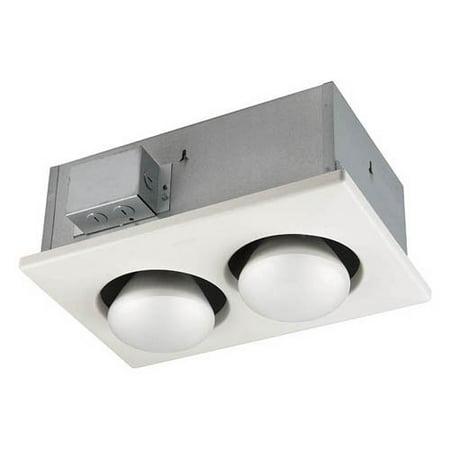 Broan-Nutone 9422P Two Bulb Heater