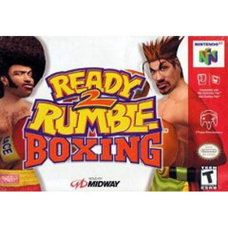 Ready 2 Rumble - N64 (Refurbished) (Best N64 Wrestling Games)