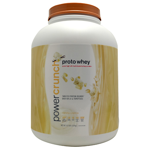 Bionutritional Research Group Proto Whey Vanilla Creme, 5.2 Pound Tub