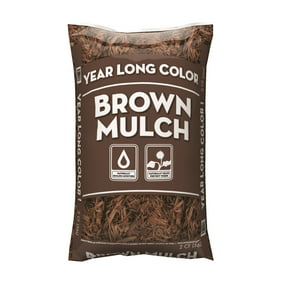 2CF Year Long Brown Mulch