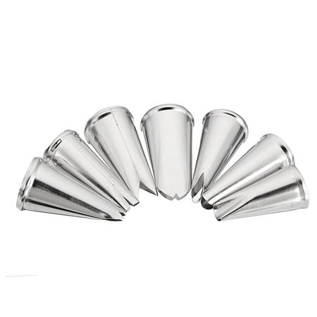 7 Pcs/lot Decorating Tip Set Leaves Cream 304 Metal Stainless Steel Icing Piping Nozzles Cake Decorating Cupcake Pastry Tools](Cupcake Decorating Ideas)