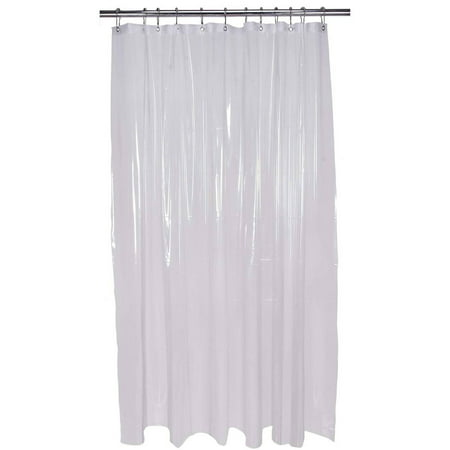 Bath Bliss Shower Curtain Liner Extra Long 84 Clear
