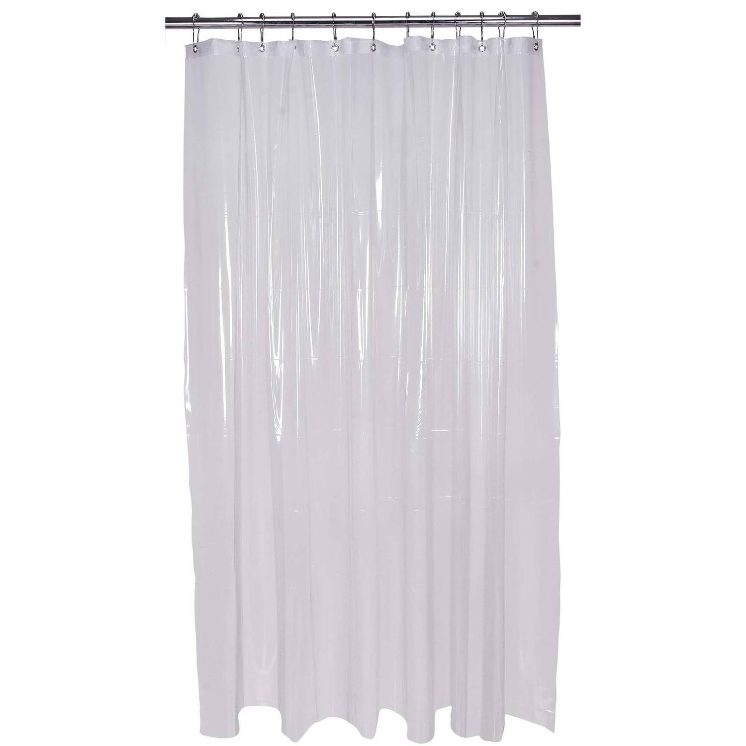 Exceptionnel Bath Bliss Shower Curtain Liner, Extra Long, Clear