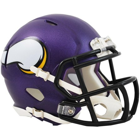 Viking Helmet Football (Riddell Minnesota Vikings Revolution Speed Mini Football)