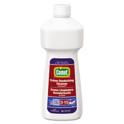 Comet Crème Deodorizing Cleanser, 32oz, 10 Bottles (PGC73163) by Procter and Gamble Professional